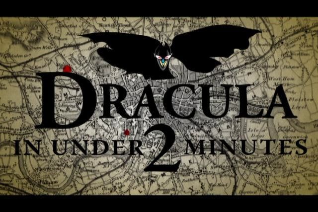 Valley Girl + Bram Stoker = Most Concise Summary Ever!  From the creators of 'The Call of Cthulhu in Under 2 Minutes' and 'The Hobbit in Under 2 Minutes'.  By the Brothers Grim & Grimy [undead].