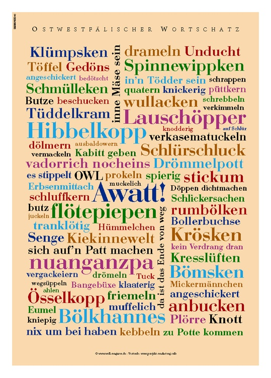 do you know these typical ostwestfalien words???