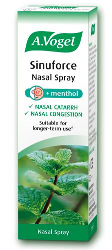 Sinuforce Nasal Spray - Relief of nasal congestion - Relief of nasal catarrh - Can be used for longer periods of time 20ml - £6.95