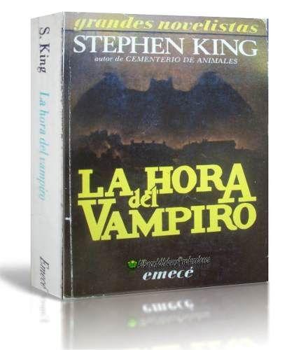 La Hora Del Vampiro   Salems Lot   Stephen King   1986 - $ 34,99