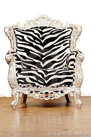Zebra Chair/dreamstime.com