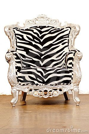 Zebra Chair/dreamstime.com