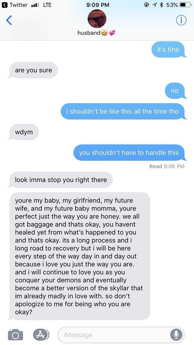 pinterest: @brookeriley_ | Relationship goals text, Cute ...