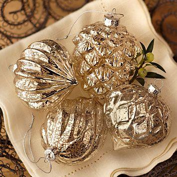 185 best images about mercury glass on pinterest vintage for Weihnachtskugeln vintage