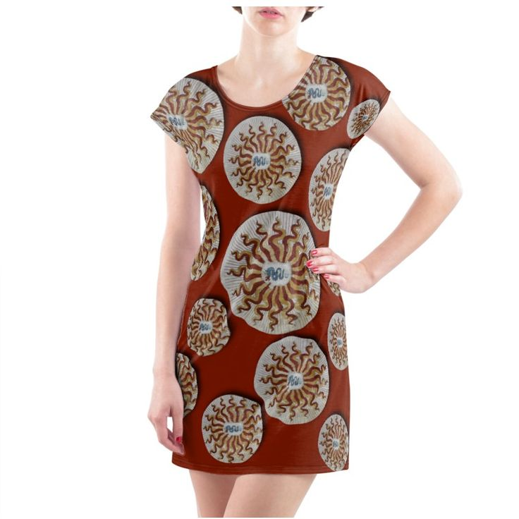 """""""Visconti"""" T Shirt Dress  -  Sizes available from XS to 4XL In jersey or cotton. Washable in washing machine."""