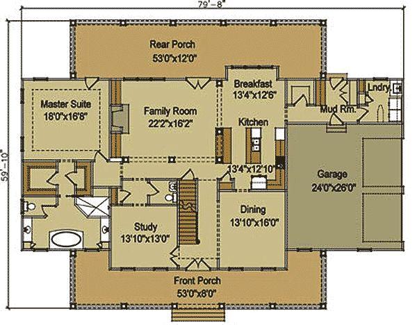 116 Best Farmhouse Floor Plans Images On Pinterest | Country House Plans,  Country Houses And Farmhouse Floor Plans