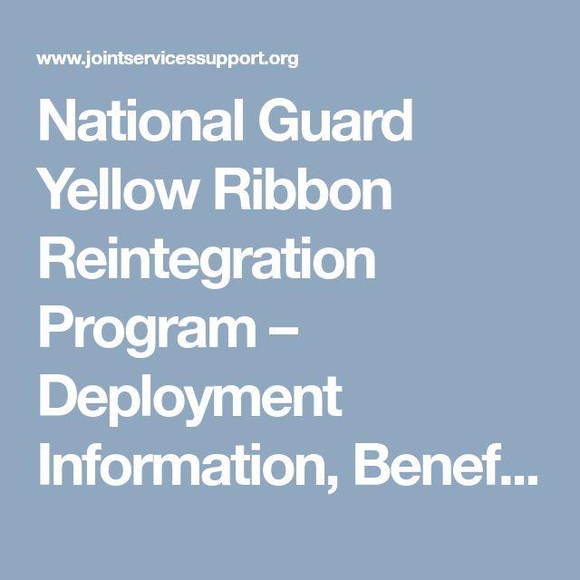 National Guard Yellow Ribbon Reintegration Program – Deployment Information, Benefits, and More