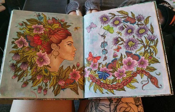 Schwedisches Malbuch für Erwachsene. Von Hanna Karlzon (Dagdrömmar / Daydreams)   – Draw A Line