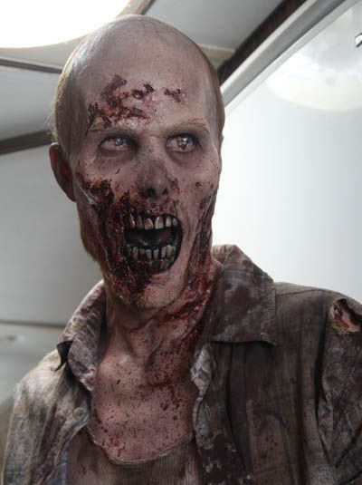 Zombie - from The Walking Dead, my current zombie-based obsession