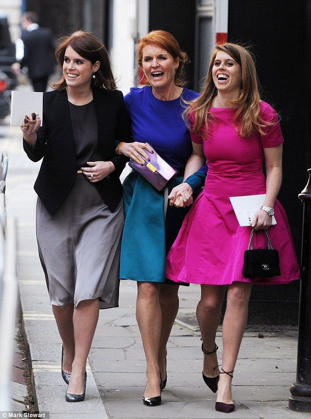 The Duchess of York and Princesses Beatrice and Eugenie had been invited to entrepreneur Ali Spencer-Churchill's Suffolk wedding, but declin...
