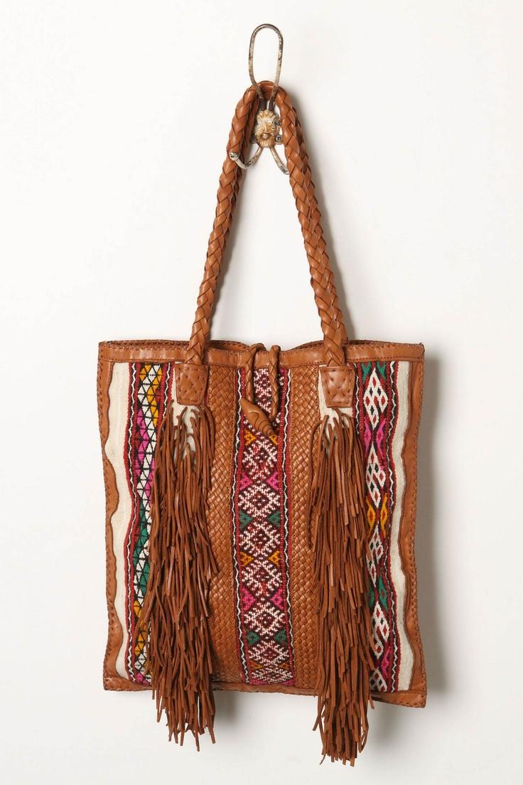 Boho Fringe Handbag.