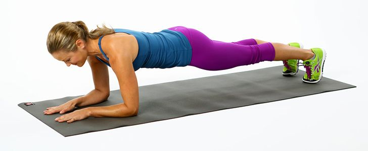 vrouw met een schema voor fitness