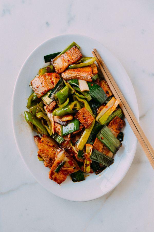 Twice Cooked Pork, or hui guo rou (回鍋肉)
