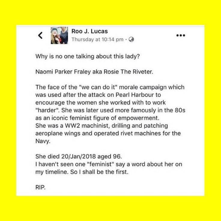 """49 Likes, 2 Comments - equality (@femmmefatales) on Instagram: """"RIP Rosie the Riveter aka Naomi Fraley. You were a feminist icon that will be an idol for ages to…"""""""