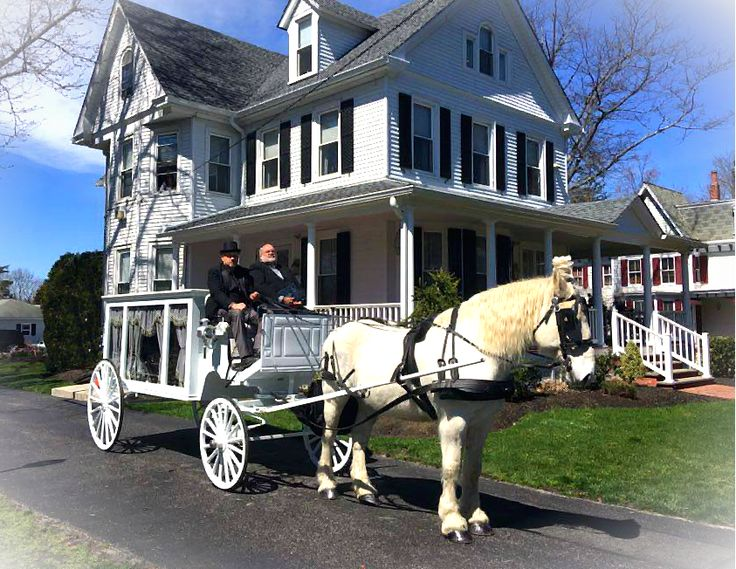 Funeral today in Medford, NJ visiting the house where the deceased had lived.