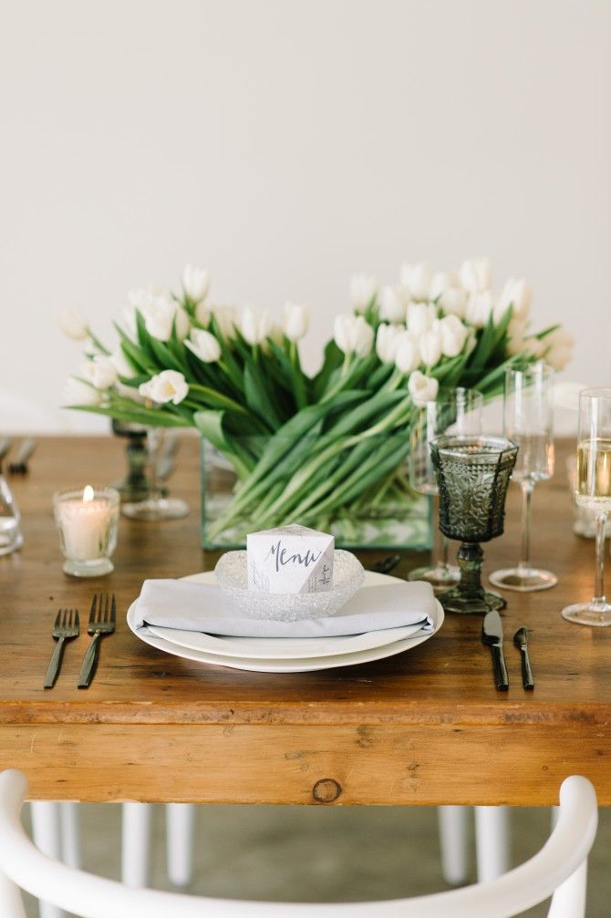 17 Best Images About Modern Tablescapes On Pinterest