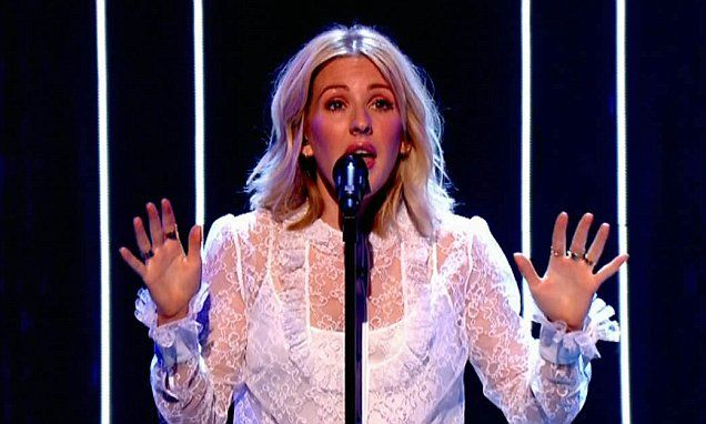Ellie Goulding kicks off BBC Children In Need charity telethon