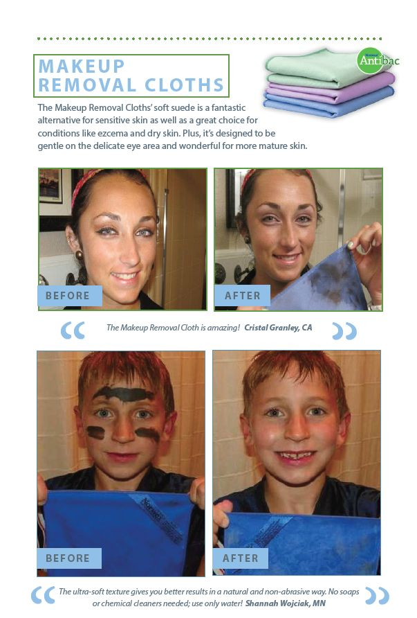 Makeup Removal Important Skin Care Routine: Before & After: MakeUp Removal Cloths
