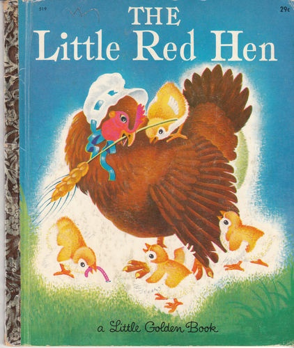 what is the moral lesson of the story of the little red hen In the tale, the little red hen finds a grain of wheat and asks for help from  the  moral of this story is that those who make no contribution to.