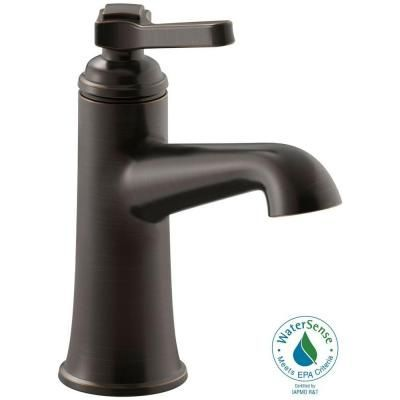 Kohler Georgeson Single Hole 1 Handle Bathroom Faucet In Oil Rubbed