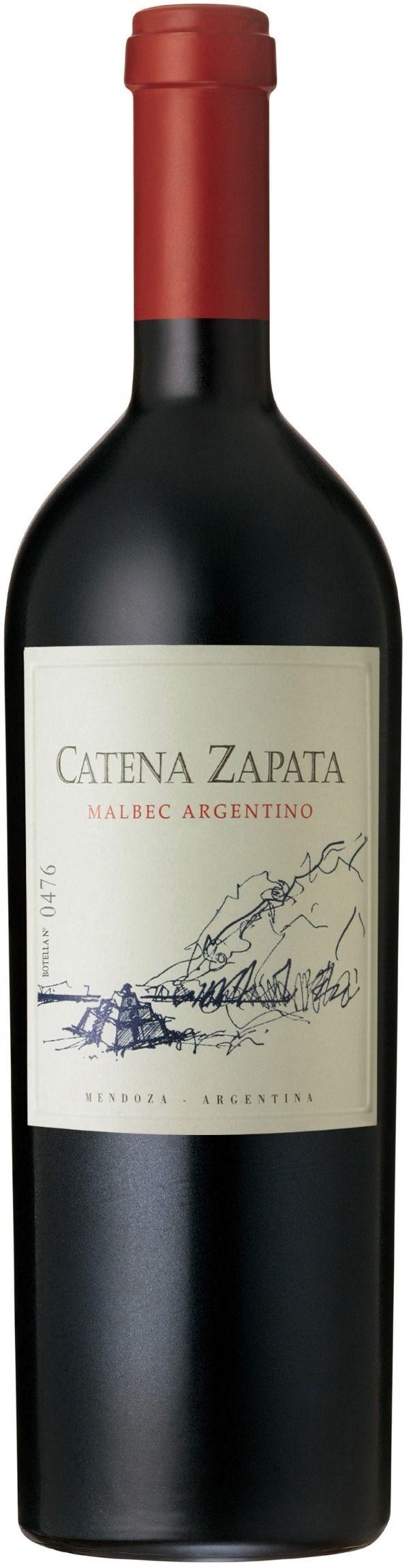 Catena Zapata Malbec Argentino, Mendoza, Argentina.