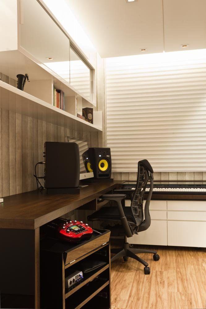 Apartamento Rock'n. Projeto de Julianna Pippi