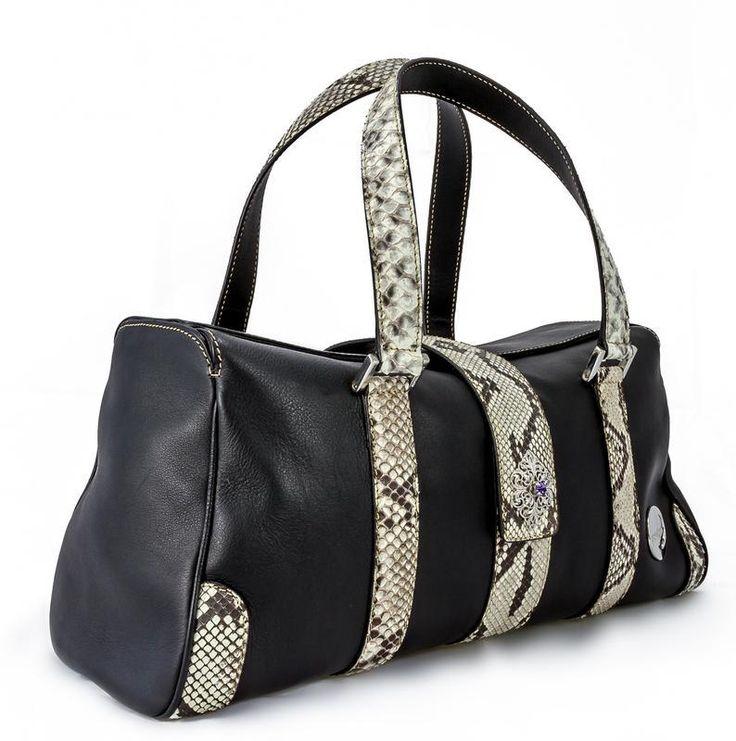 @ Ritzy Bagz ♥ python handbag