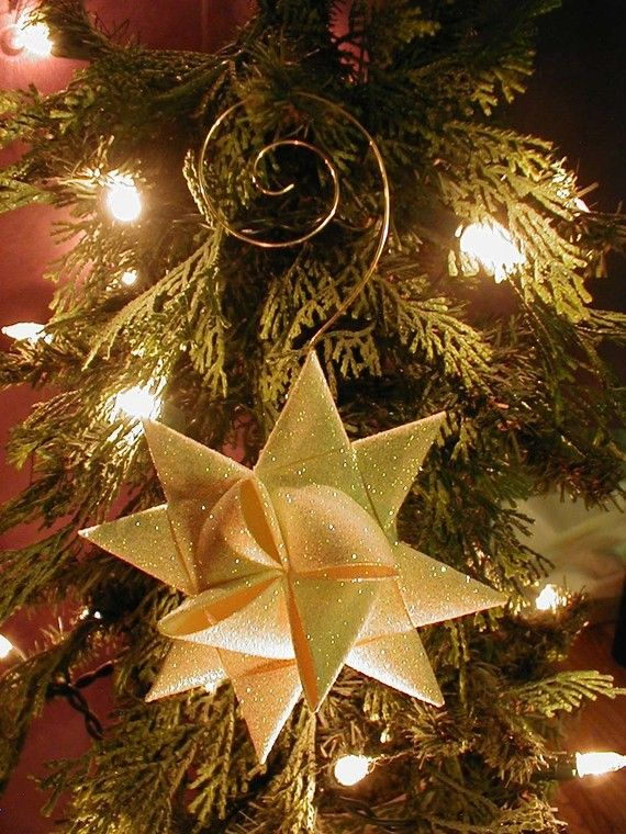 Gold Moravian Stars