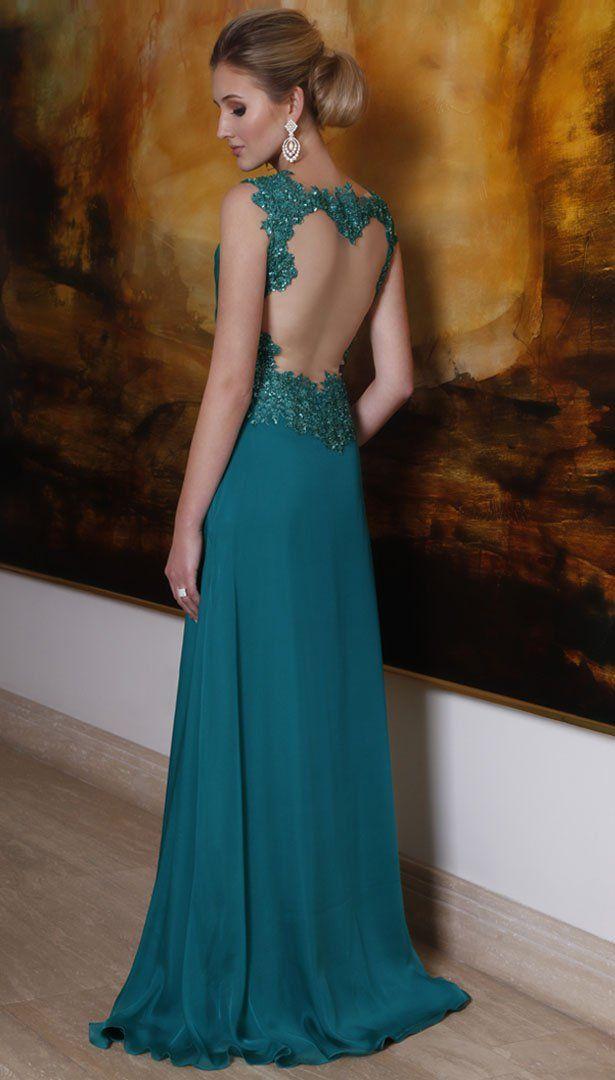 Isabella Narchi - vestido verde