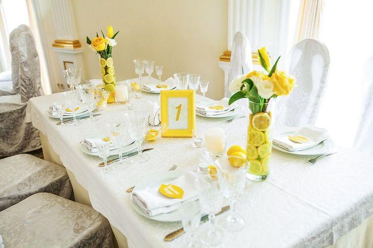 Фото 2654485 в коллекции Лимонная свадьба - Студия декора Винегрет