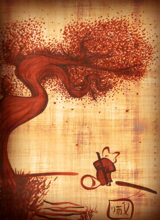 Shifu and the Peach Tree by ~the-Mad-Hatress on deviantART