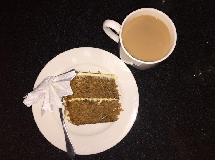 Carrot cake & tea!