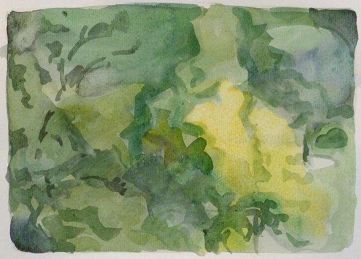 Bo Ljungcrantz,akvarell, 19x29cm