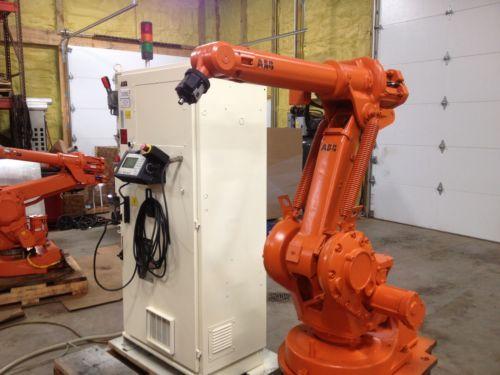 ABB-Robot-ABB-1400-robot-Welding-robot-ABB-S4-controls-system-Fanuc-Robot - paint moveable ottlite desk lamp in RAL 2003