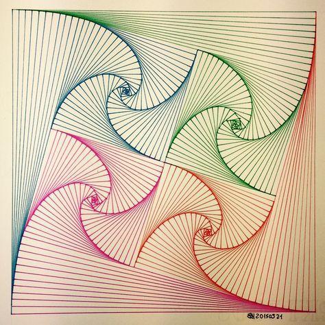 Die besten 25+ geometrische Muster Ideen auf Pinterest - tapezieren fenster