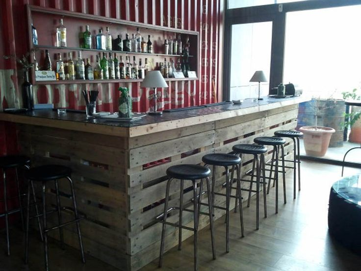 Barra 800 600 casas de chapa pinterest - Ideas para montar un bar ...
