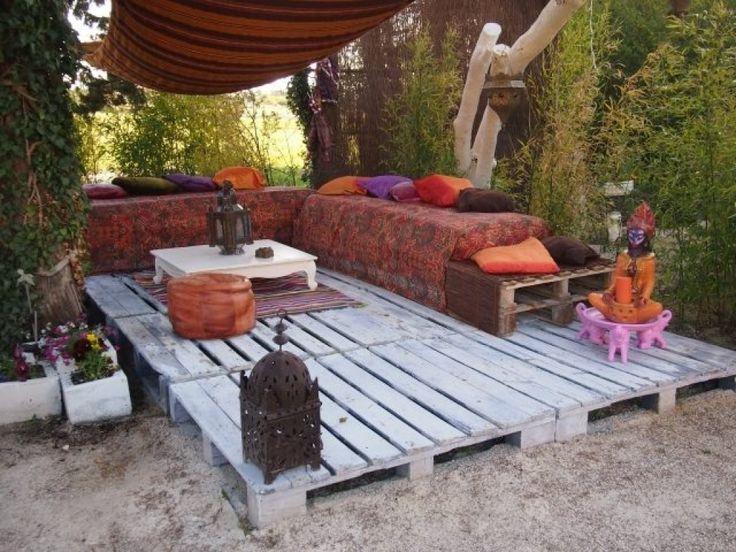 terrasse aus paletten ile ilgili pinterest'teki en iyi 25 fikir,