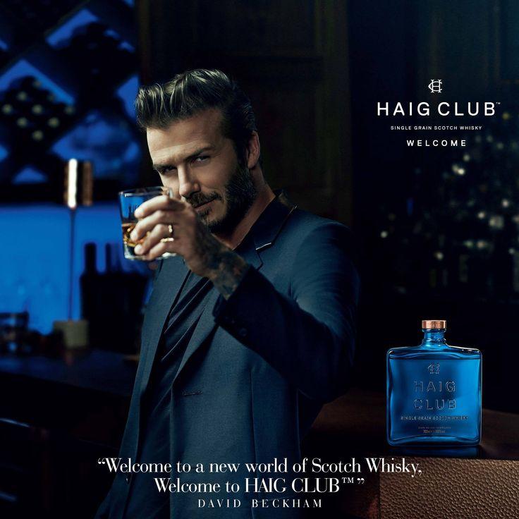 Шотландский Виски от Дэвида Бэкхэма HAIG CLUB 0.7л. Купить  Шотландский Виски