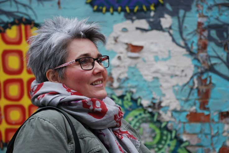 We love this picture of Jane, who started to go grey at 19 and dyed her hair ever since with little idea of what was really underneath. Last July, Jane decided to ditch the dye and 7 months later she's most definitely rocking her silver hair! Thanks for sharing Jane, we think you look amazing!