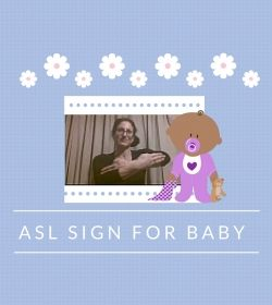 Baby Sign Language Video Dictionary: ASL Sign Baby