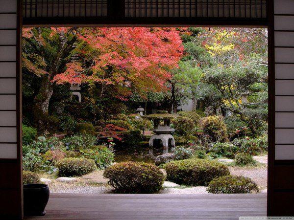 16 étapes de créer un jardin japonais automne