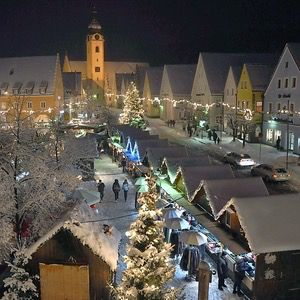 Christmas Market in Schwandorf, Germany