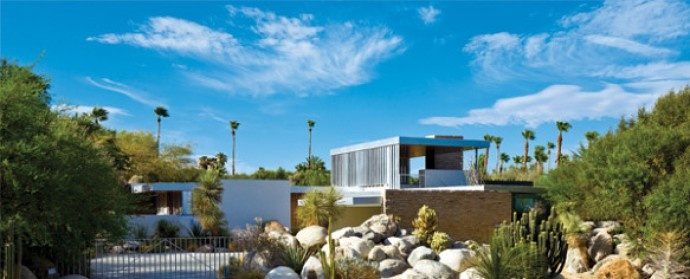 Kaufmann desert house designed by richard neutra 470 for Palm springs celebrity homes