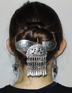 Miao Tribal Headpiece