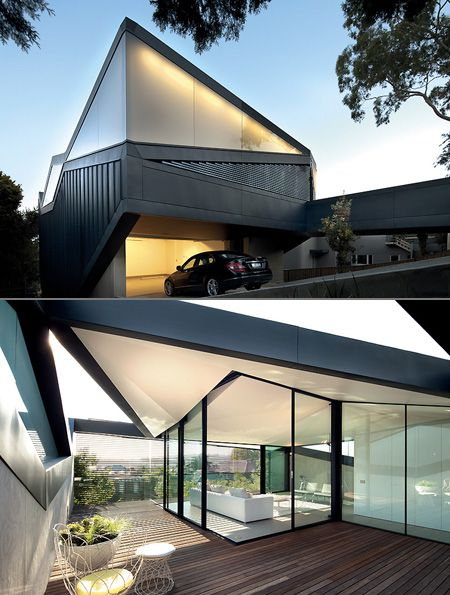 Pitched Roof House: The Incredible Geometric Home