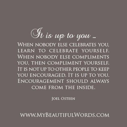 My Beautiful Words.: Celebrate Yourself...
