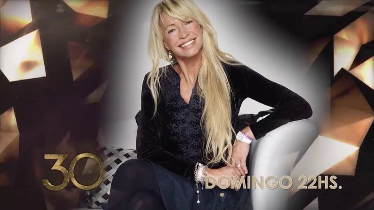 Susana Giménez 30 Años - DOMINGO 19 DE NOVIEMBRE 22 HS. por Telefe.