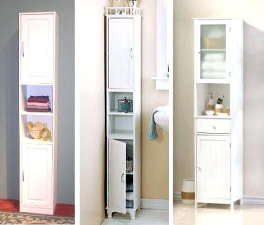 Hoher Badezimmer Speicher Kabinett Badezimmer Schrank