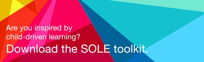 Download this: The SOLE (Self Organized Learning Environment) Toolkit. A project in itself or a great way to jumpstart Genius Hour.