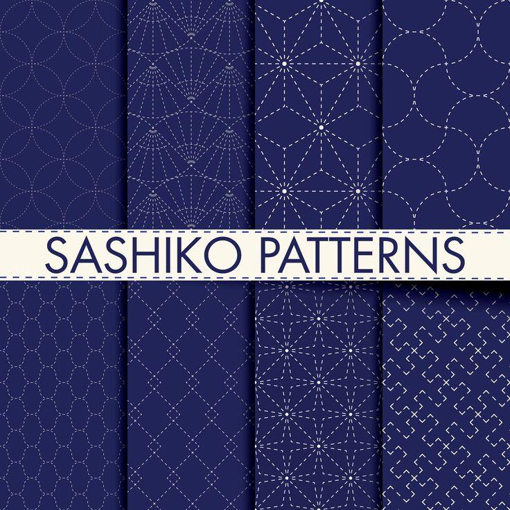 Sashiko Quilting Tutorial How To Make A Japanese